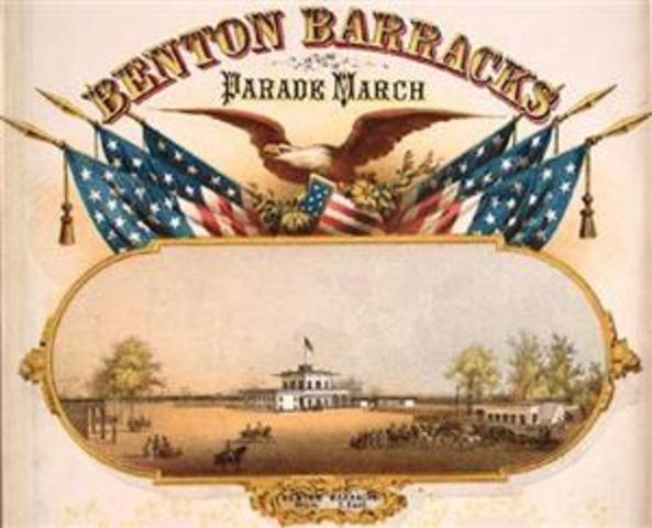 At Benton Barracks