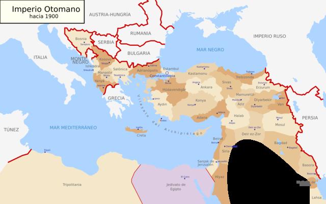 Entrada a la guerra de l'Imperi Otomà