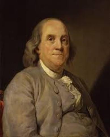 When Benjiman Franklin Was Born