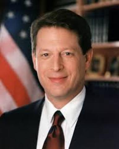 ALBERT ARNOLD GORE JR. (Washington D. C.; 31 de marzo de 1948) es un político y ecologista estadounidense.