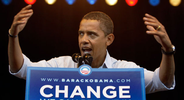 Barack Obama voted the first african americal president