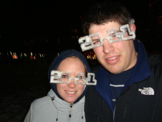 New Years in Boston