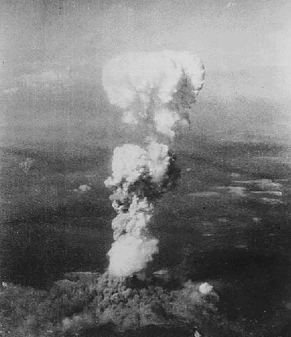 dropping of atomic bomb on hiroshima