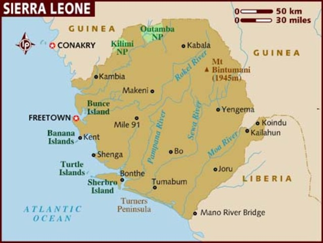 Colonization of Sierra Leone