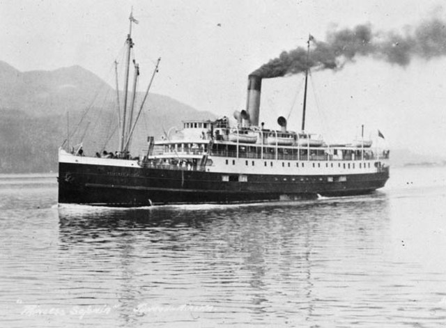 First Steamship Across the Atlantic