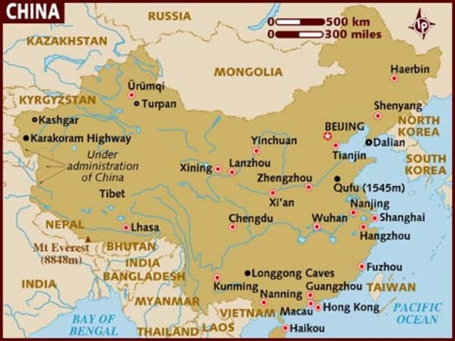 Large Famine in China