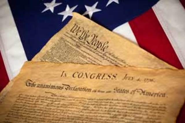 US Declaration Signed