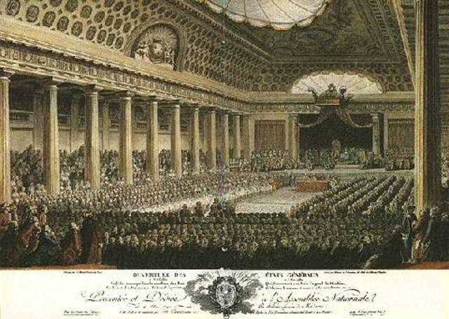 King Louis XVI Calls Meeting of Estates-General