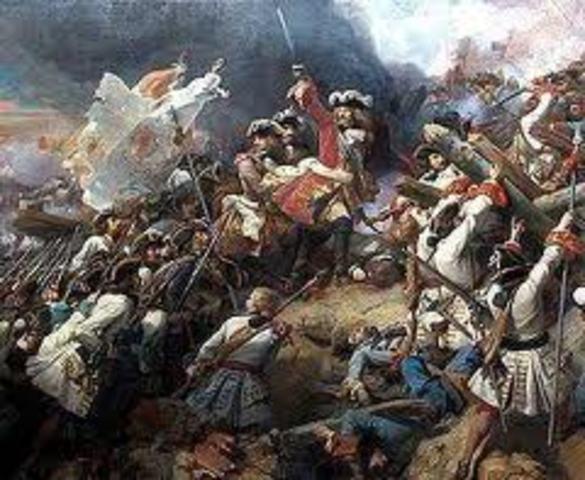 Prussia/Austria Campaign to Regain France