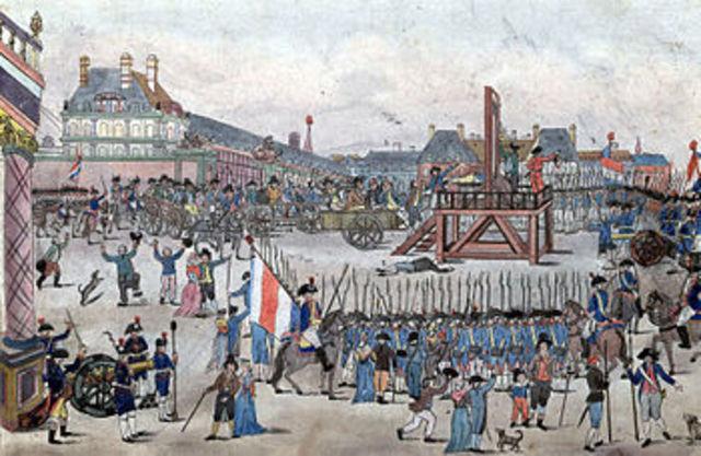 Maximilien Robespierre Suicide Attempt/Trial/Executio