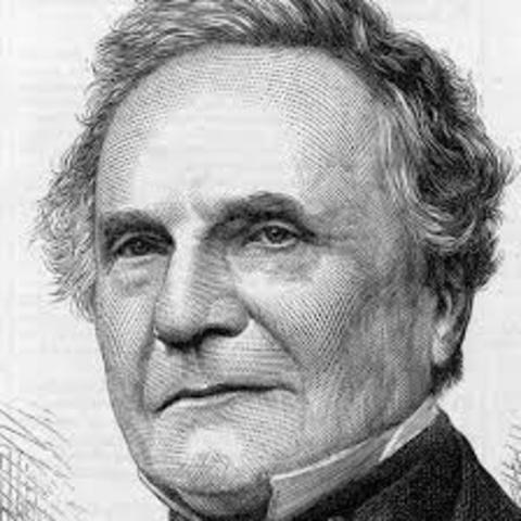 Charles Babbage projeta um computador mecânico
