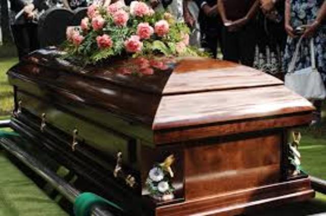 John Locke`s father died.