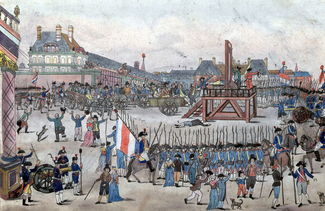 The Execution of Robespierre (10 Thermidor)