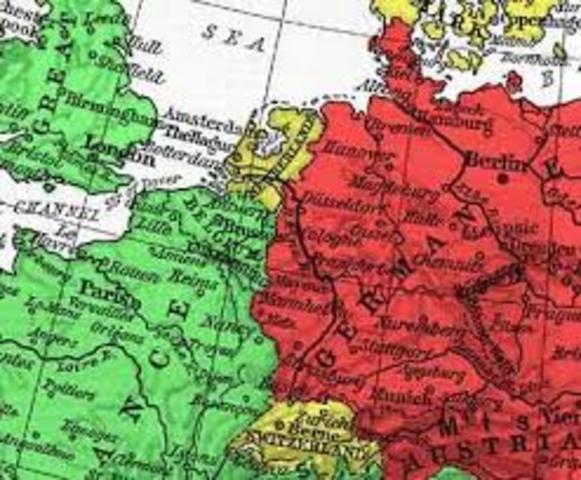 Alemanya declara la guera a França