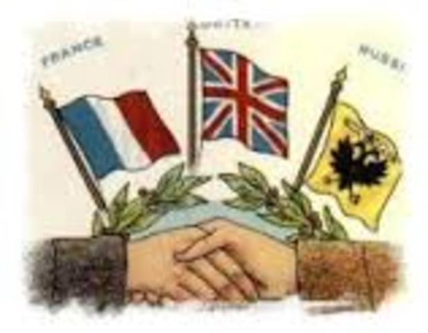 Entrada dels Estats Units a la Triple Entente