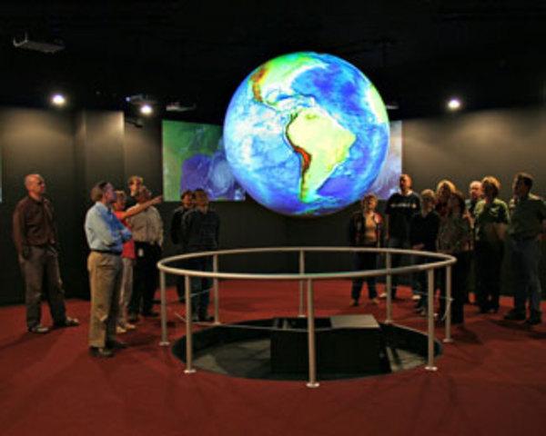 Science on a Sphere 5th Grade Field Trip