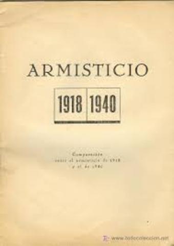 Alemanya signa l'armistici