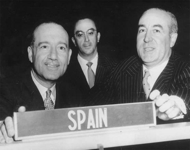 Ingreso de España en la ONU.