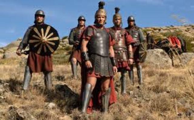 Fin de la dominacion roaman en Hispania