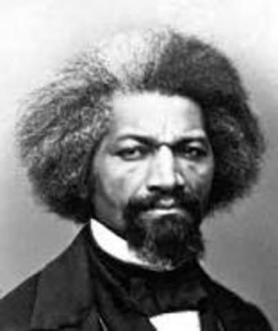 Fredrick Douglas author and abolitionist