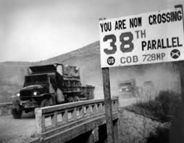 Breakout of the Korean War