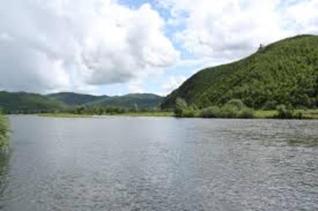 Crossing Yalu River