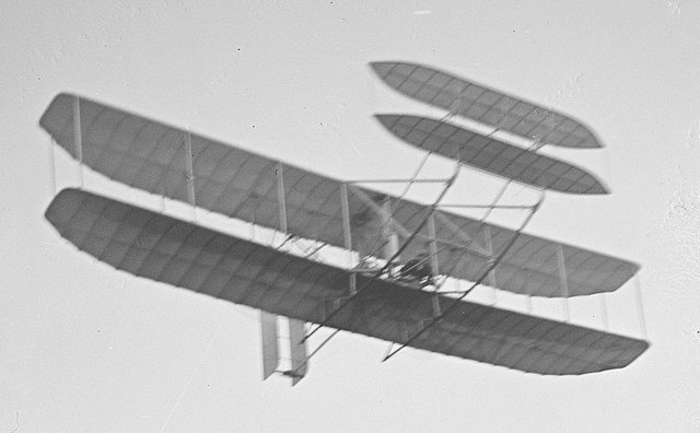 Wright Brothers first powered flight.