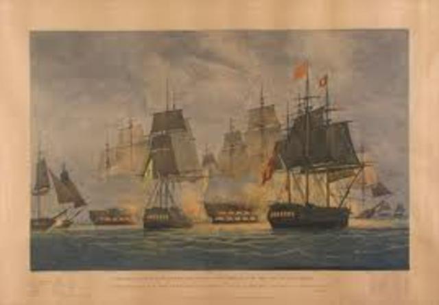 Batalha naval no cabo de S. Vicente