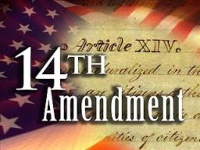 Fourteeth Amendment makes civil rights legislation permanent