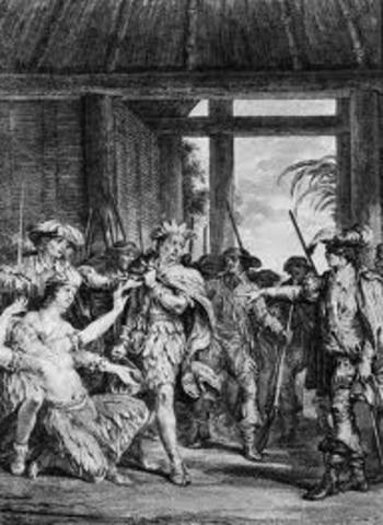 F.Pizzaro meets Atahualpa