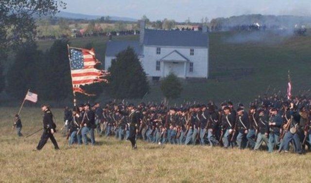 Civil War Re-enactment 4th Grade