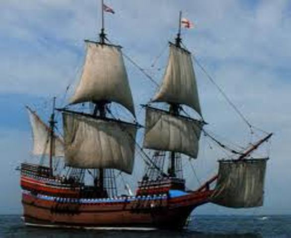 When The Mayflower Arived