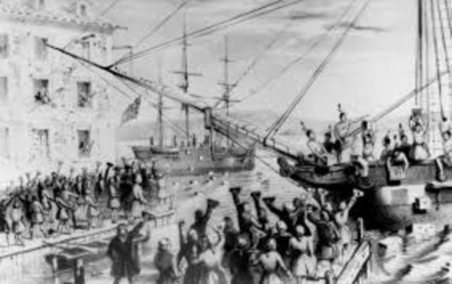 When The Boston Tea Party Happend
