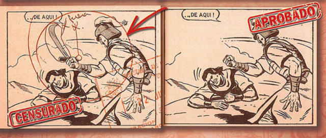 Censura del cómic en España