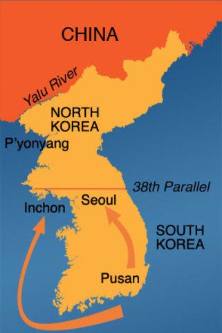 UN Counterattack at Inchon