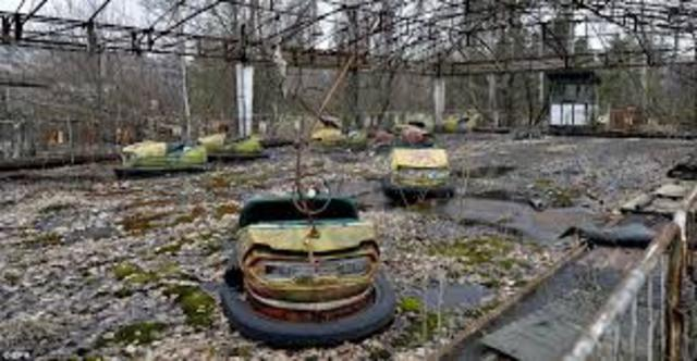 The deserted fairgrounds