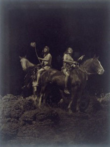 Camp with the Nez Perce