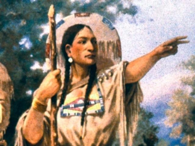 Sacagawea becomes dangerously ill