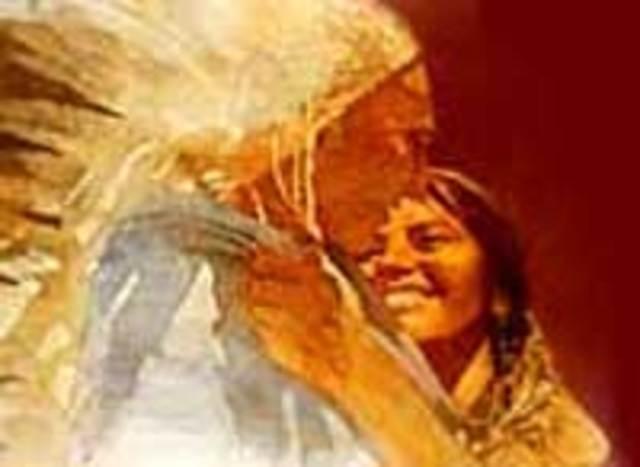 Sacagawea reunites with her brother