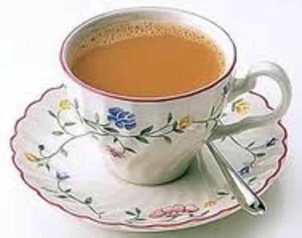 Tea Introduced