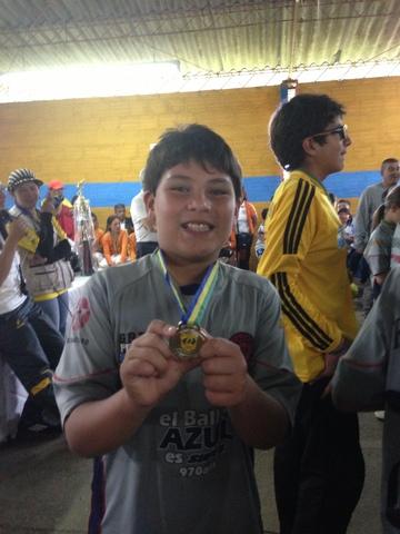 my first fotball match won