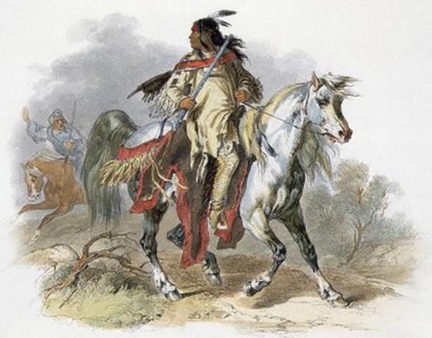 The Killing of Two Blackfeet Indians