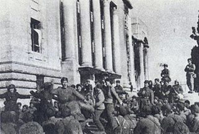 Communist's Recapture of Seoul