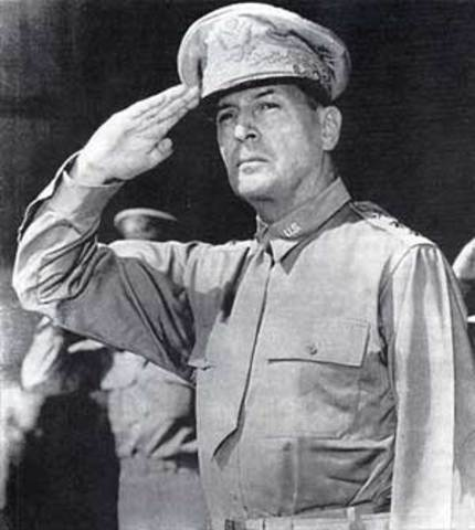 Relieving of MacArthur's Command