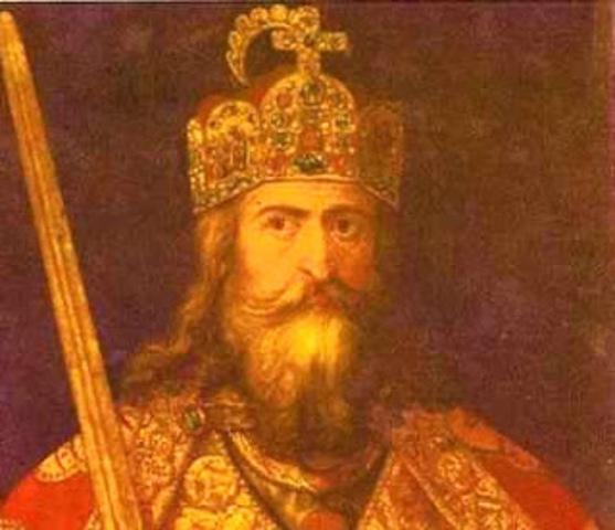 Carlomagno se convierte en rey de los francos.