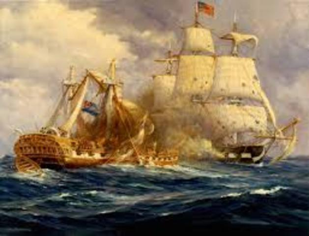 U.S.S. Constitution Scores a Victory