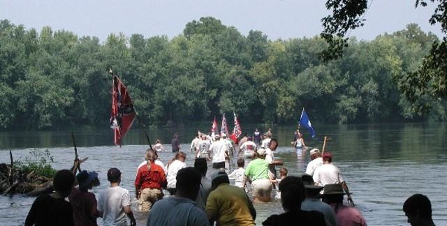 Crossing the Potamac River