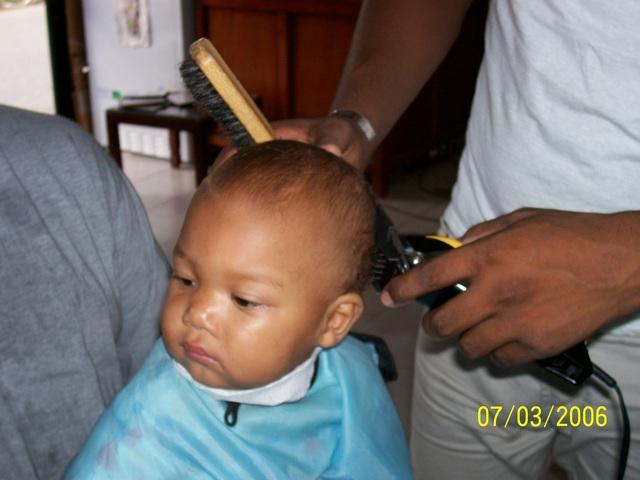 My First Haircut