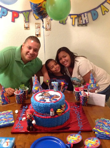 My 7th Birthday in Orlando,FL
