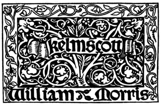 WILLIAN MORRIS FUNDÓ LA IMPRENTA KELMSCOTT